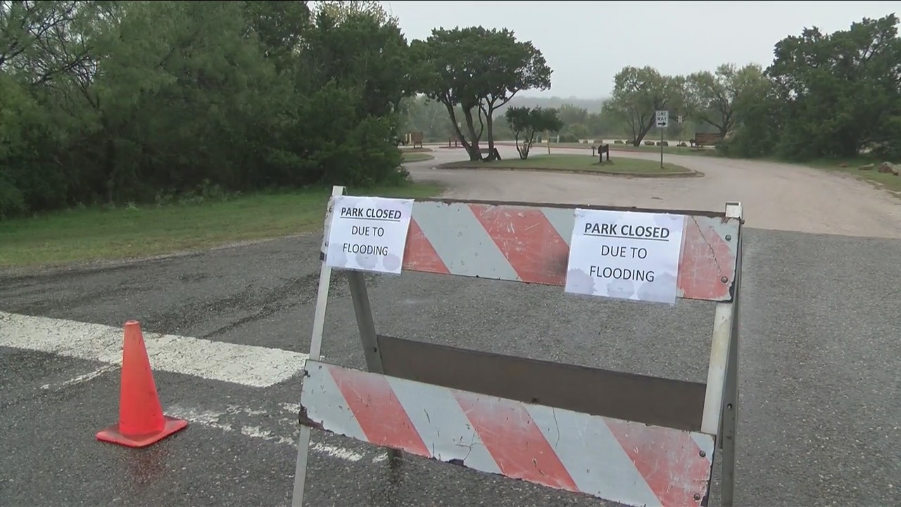 Flooding shutters five Texas state parks with no timetable for reopening
