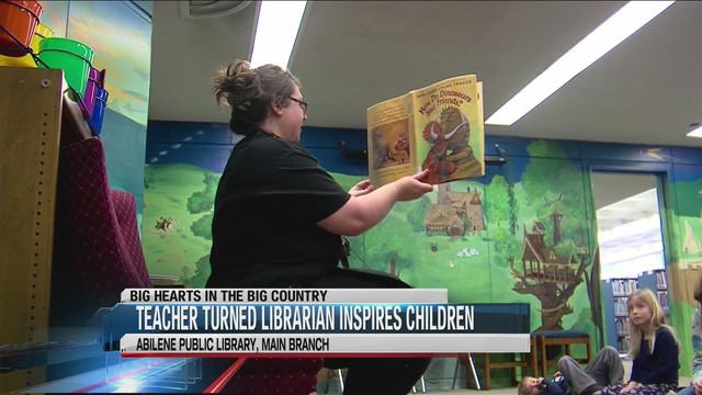 Big Hearts: Teacher turned librarian inspires Abilene youngsters