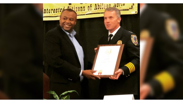 Abilene Police Chief honored with Hero Award